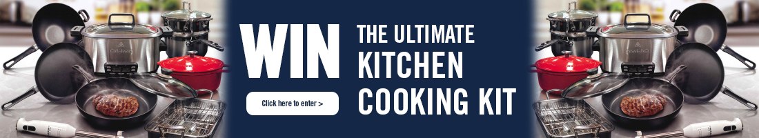 Win the ultimate kitchen cooking kit