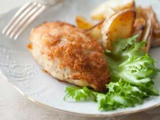 Minced Chicken Patties