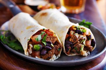Chuck burrito