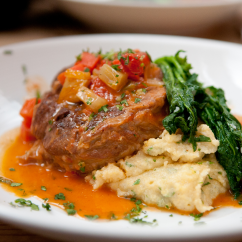 Slow-Cooked Osso Bucco with Orange Gremolata
