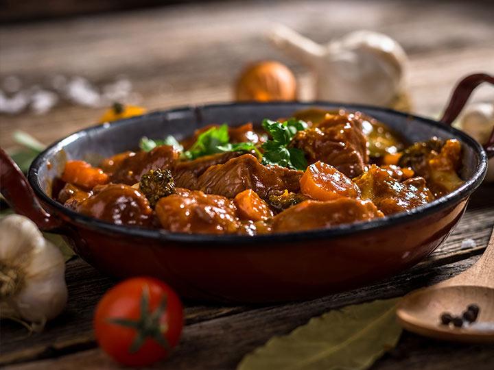Nourishing oxtail stew