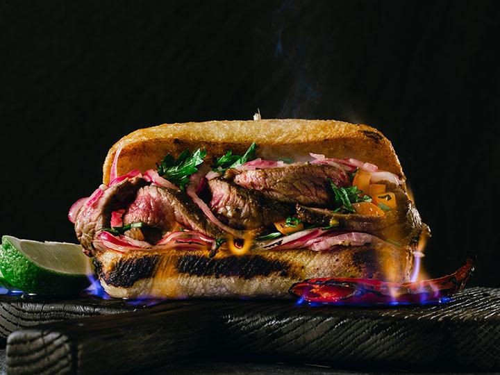 Ultimate leftover roast beef sandwich