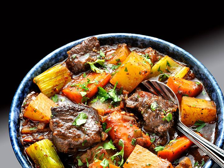Beef chuck pot casserole