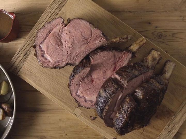 Beef Rib-Eye Roast