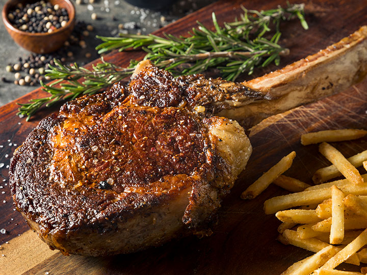 Tips on cooking the tomahawk steak
