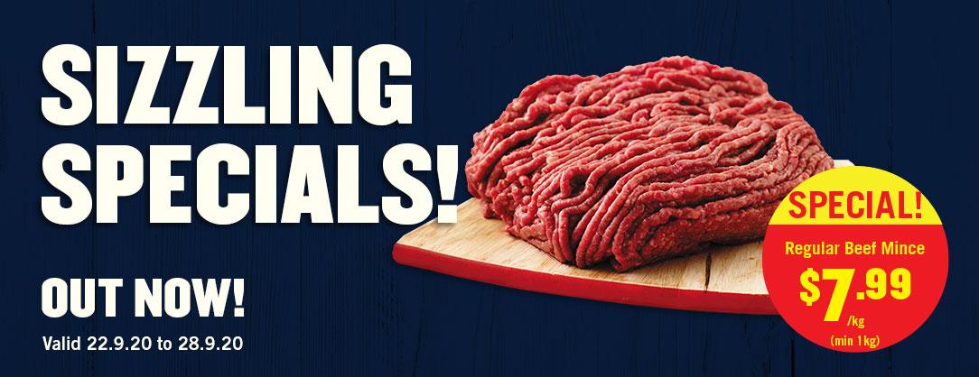 Regular Beef Mince