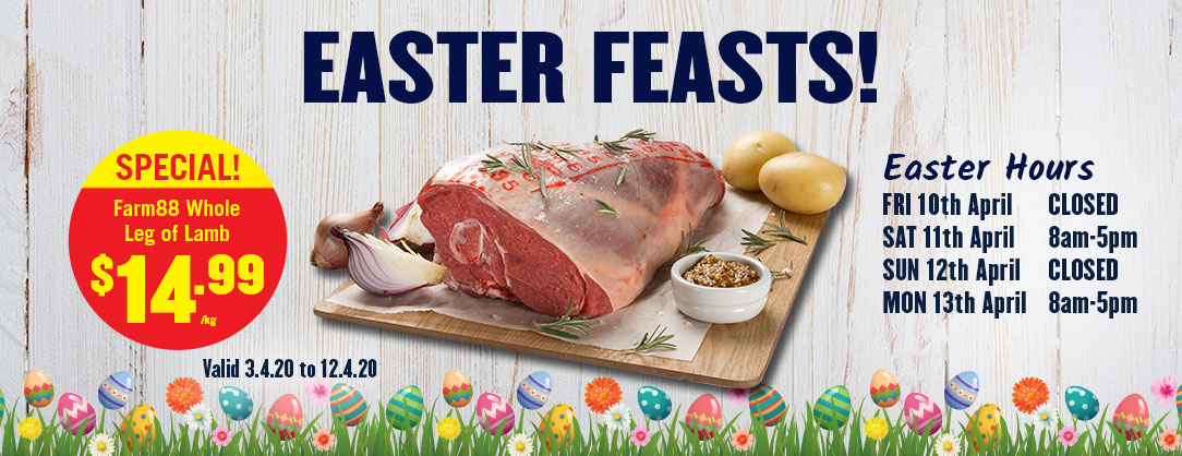 Easter Catalogue Whole Leg of Lamb