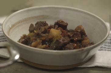 Slow cook beef casserole