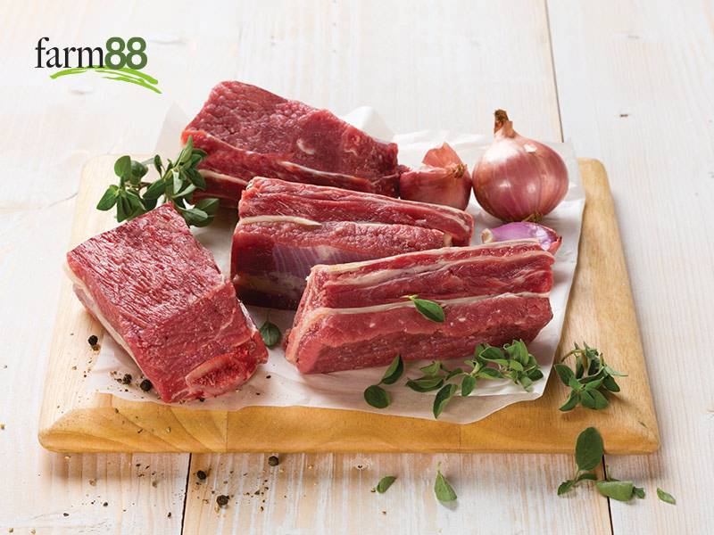 Farm88 Yearling Beef Spare Ribs