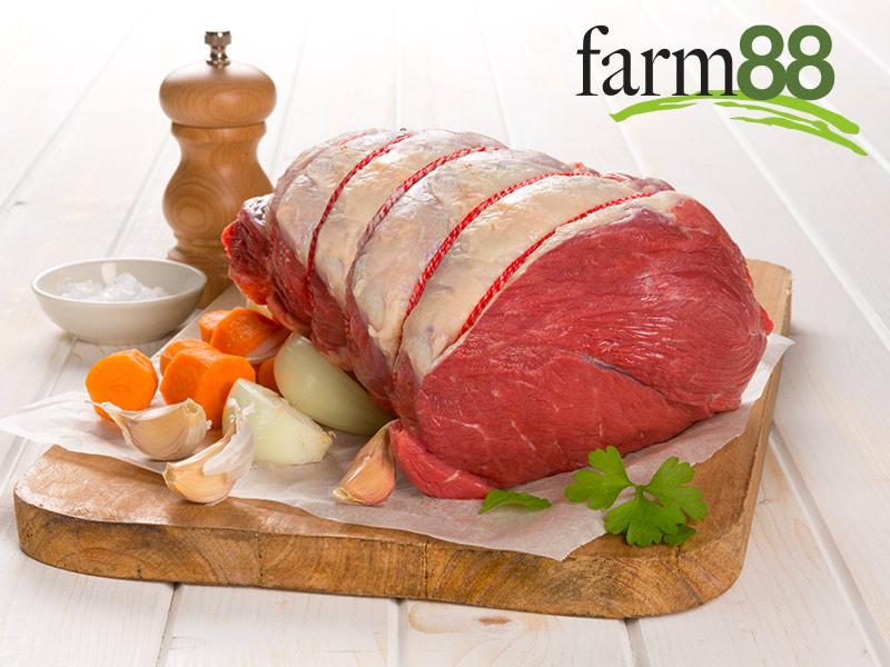 Farm88 Yearling Beef Weber Roast (plain & marinated