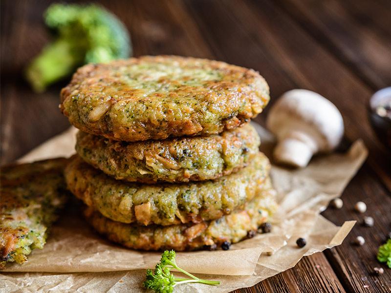 Freshwater Foods Vegie Burger 4pk 448g Fresh