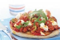 Easy style Turkish pizza