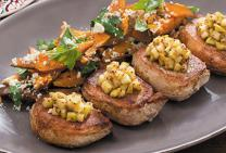 Pork Loin Chops with Apple Chutney