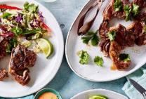 Five spice lamb chops