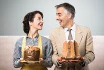 festive cakes pandoro and panettone