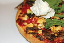 Slow Cooked Lamb & Feta Pizza