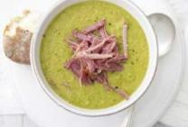 Split Pea & Green Pea Smoked Ham Soup