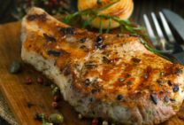 Grilled Pork Chops – Greek style