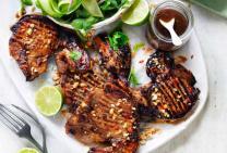 Vietnamese Style Pork Loin Chops