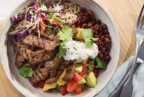 Mexican Beef Bowl