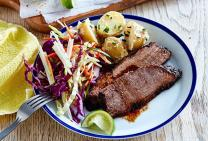 Southern spice rubbed beef brisket