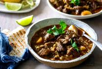 Beef Barbacoa with maple and mustard