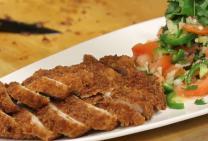 Sarah Tiong's Crumbed Pork Steaks