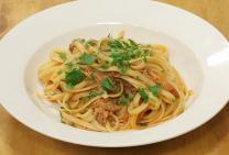 Sarah Tiong's pulled pork pasta