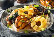 Hawaiian Huli BBQ chicken