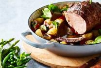 Bolar blade beef roast