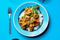 Lamb korma curry