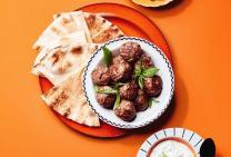 Spiced lamb mince meatballs