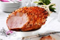 Marmalade & maple glazed ham