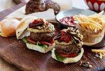Outback beef burgers