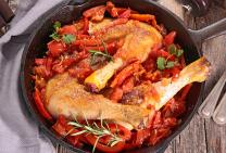 Chicken maryland red pepper casserole