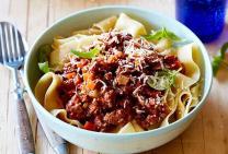 Savoury beef mince & pasta
