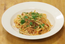 pulled pork pasta