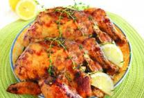 Lemon & Thyme Twin Roast Chickens