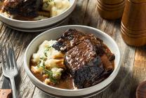 Classic braised beef ribs