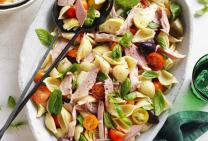 Ham, artichoke & tomato salad
