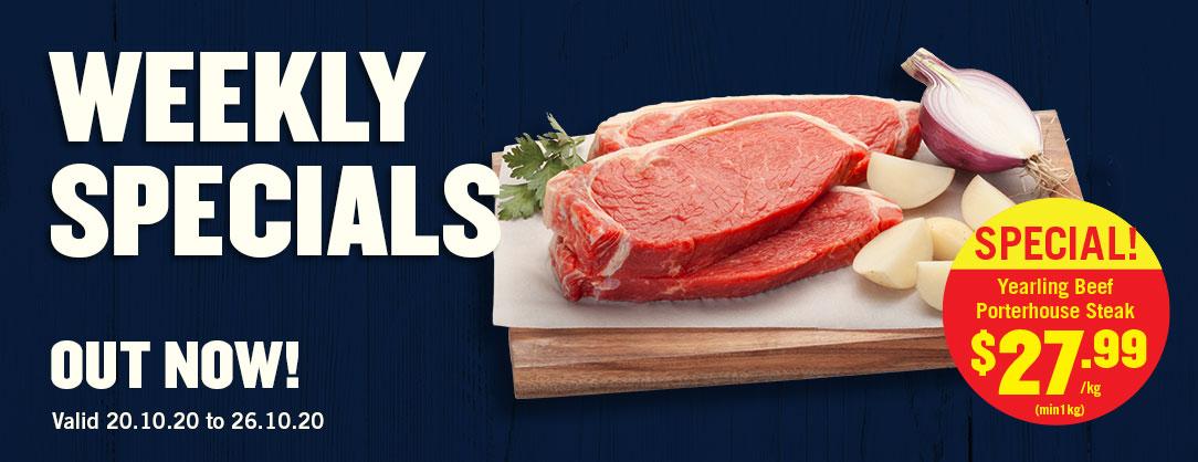 Yearling Beef Porterhouse Steak